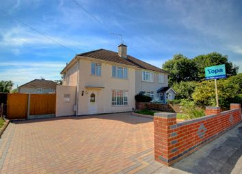 Thumbnail 3 bed semi-detached house for sale in Foxhays Road, Reading