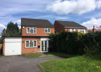 Thumbnail 4 bed detached house to rent in Streetsbrook Road, Shirley, Solihull