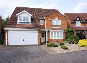 Thumbnail 4 bed detached house for sale in Sandringham Road, Coalville
