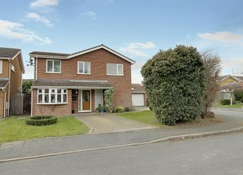 Thumbnail 4 bed detached house for sale in Swallow Walk, Deeping St. James, Peterborough