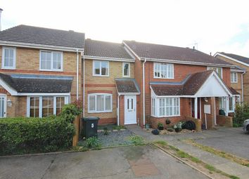 Thumbnail 2 bed terraced house to rent in Hawthorn Close, Halstead, Essex