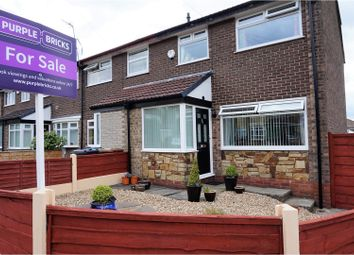 Thumbnail 3 bed semi-detached house for sale in Birkdale Close, Hyde