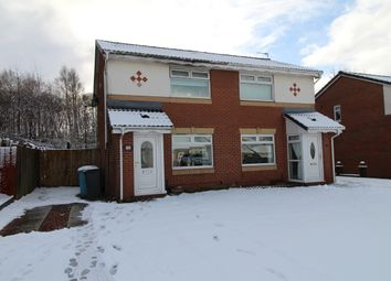 Thumbnail 2 bedroom semi-detached house for sale in Thistledown Grove, Coatbridge