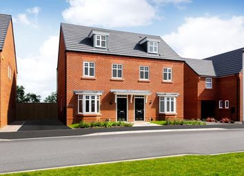 "Thumbnail 3 bed semi-detached house for sale in ""Kennett"" at Broughton Crossing, Broughton, Aylesbury"