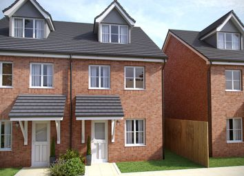 Thumbnail 3 bedroom town house for sale in Southampton Road, Cosham, Portsmouth