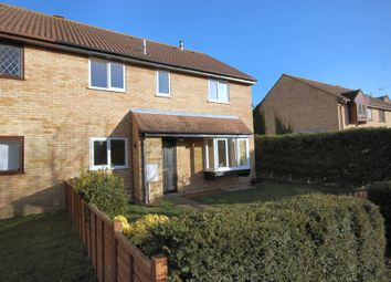 Thumbnail 2 bed semi-detached house to rent in The Rowans, Milton, Cambridge