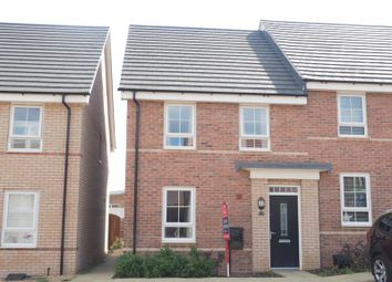 Thumbnail 3 bed terraced house for sale in Talbot Road North, Wellingborough