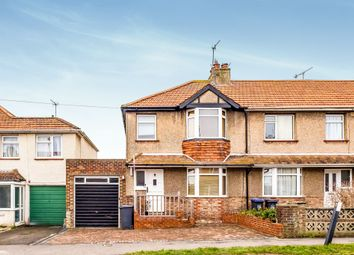 Thumbnail 3 bed end terrace house for sale in Orchard Avenue, Lancing