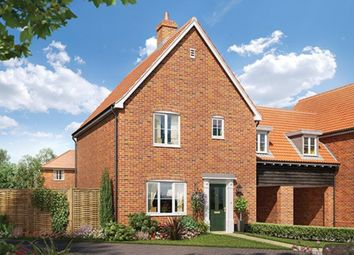 Thumbnail 3 bedroom link-detached house for sale in St. Michaels Way, Wenhaston, Halesworth