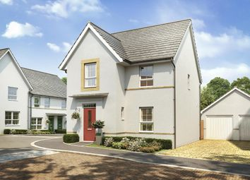 "Thumbnail 4 bedroom detached house for sale in ""Kington"" at Kergilliack Road, Falmouth"