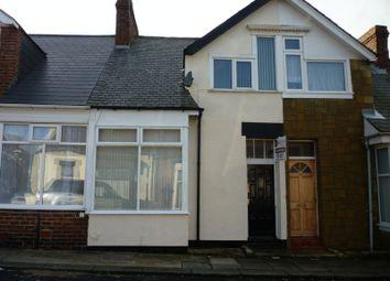 Thumbnail 2 bed terraced house to rent in Romford Street, Sunderland