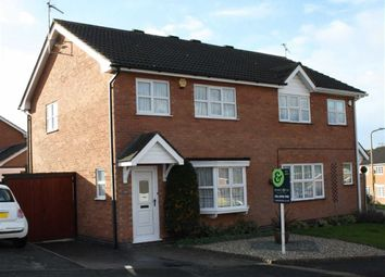Thumbnail 3 bed semi-detached house for sale in Somerset Drive, Glenfield, Leicester