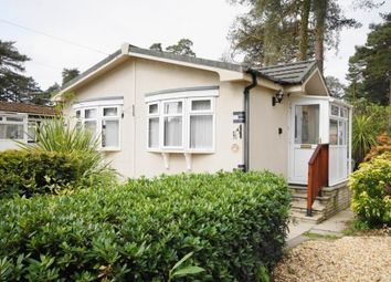 Thumbnail 1 bed mobile/park home for sale in Fairies Drive, Lone Pine Park, Ferndown