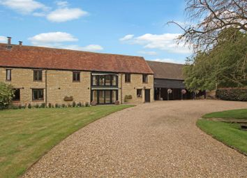Thumbnail 5 bed country house for sale in Water Stratford Road, Finmere, Buckingham