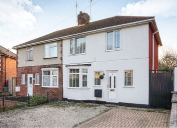 Thumbnail 3 bed semi-detached house for sale in Gwencole Crescent, Narborough Road South