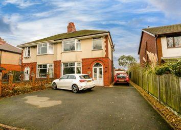 Thumbnail 3 bed semi-detached house for sale in 218 Longridge Road, Preston