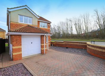Thumbnail 3 bed detached house for sale in Tollerton Drive, Sunderland