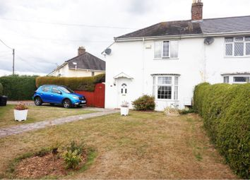 Thumbnail 3 bed semi-detached house for sale in Crossway, Caldicot