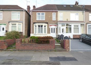 Thumbnail 2 bedroom end terrace house for sale in Grangemouth Road, Coventry