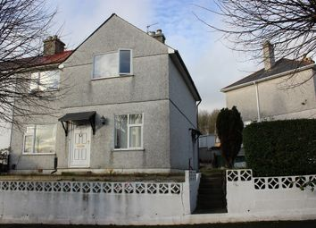 Thumbnail 3 bedroom semi-detached house for sale in Mount Gould Avenue, Mount Gould, Plymouth