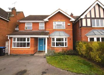 Thumbnail 4 bed detached house to rent in Brudenell Close, Cawston, Rugby