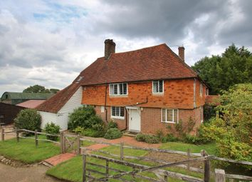 Thumbnail 4 bedroom detached house for sale in Goudhurst Road, Cranbrook, Kent