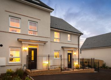 "Thumbnail 3 bedroom terraced house for sale in ""Padstow"" at Kergilliack Road, Falmouth"