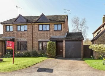 Thumbnail 3 bed semi-detached house for sale in All Saints Close, Wokingham, Berkshire