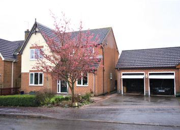 Thumbnail 4 bed detached house for sale in River Sence Way, Hugglescote, Coalville