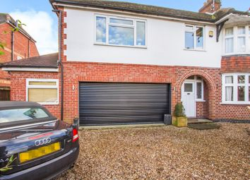 Thumbnail 5 bed semi-detached house for sale in Glen Road, Oadby, Leicester