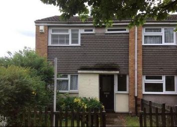 Thumbnail 3 bed terraced house to rent in Fitzwarin Close, Luton