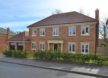 Thumbnail 5 bed detached house for sale in Chevallier Court, Potters Bank, Durham City