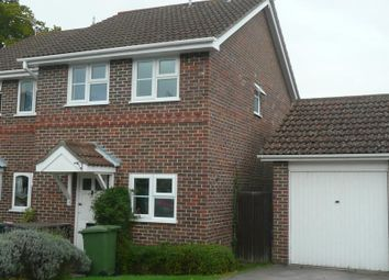 Thumbnail 2 bed semi-detached house to rent in Blackcap Close, Rowland's Castle, Hampshire