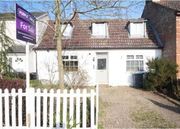 Thumbnail 3 bedroom cottage for sale in The Street, Bredfield