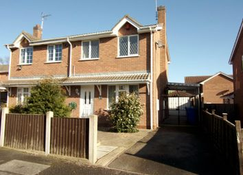 Thumbnail 3 bed semi-detached house to rent in Linnet Drive, Mansfield, Nottinghamshire