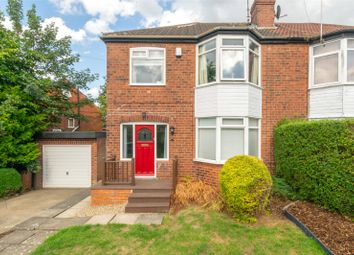 Thumbnail 3 bed semi-detached house for sale in Carrholm Road, Leeds, West Yorkshire