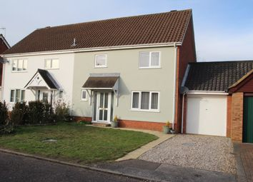 Thumbnail 3 bed semi-detached house for sale in Mayfield Lane, Martlesham Heath, Ipswich