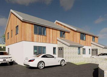 Thumbnail 3 bed semi-detached house for sale in Noweth Meynek, Carbis Bay, St. Ives