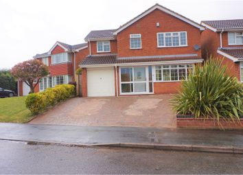 Thumbnail 4 bedroom detached house for sale in The Parkway, Walsall