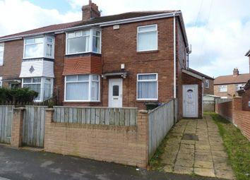 Thumbnail 2 bedroom flat for sale in Borrowdale Avenue, Walkerdene, Newcastle Upon Tyne