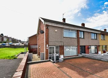 Thumbnail 2 bed end terrace house for sale in Heol Dynys, Ravenhill, Swansea