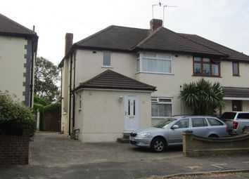 Thumbnail 3 bed semi-detached house for sale in Fernbank Avenue, Hornchurch