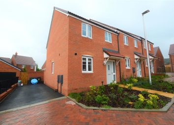 3 bed end terrace house to rent in Hodges Close, Gittisham, Honiton, Devon EX14