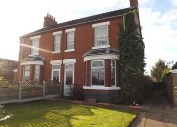 Thumbnail 3 bed semi-detached house for sale in Hawthorne Villas, Linley Lane, Alsager, Stoke-On-Trent