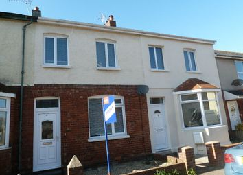 Thumbnail 2 bed terraced house to rent in Rosebery Road, Exmouth