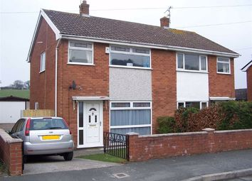 Thumbnail 3 bed semi-detached house for sale in Nant Eos, Holway, Holywell