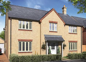 Thumbnail 4 bedroom detached house for sale in Woburn Drive, Thorney, Peterborough