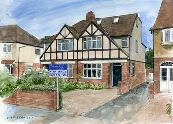 Thumbnail 4 bed semi-detached house for sale in Lyncroft Gardens, Hounslow, Middlesex