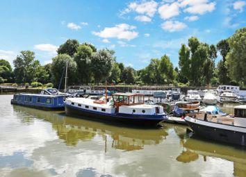 Thumbnail 2 bedroom houseboat for sale in Brentford Dock Marina, Justin Close, Brentford