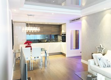 Thumbnail 2 bed flat to rent in Chelsea Bridge Wharf, 336 Queenstown Road SW8, London,